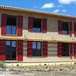 Maison bio-climatique façade sud