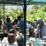Inauguration maison bio-climatique, pique-nique