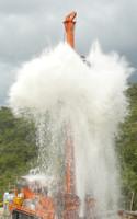 À Berdine le 19 septembre 2008 l'eau jaillit...