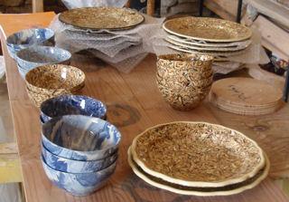 Échantillons poterie de Berdine