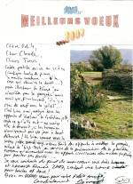 Vœux des berdinois aux Amis de Berdine et paroissiens venellois